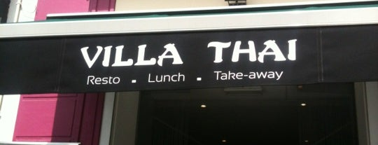Villa Thaï is one of bxl.