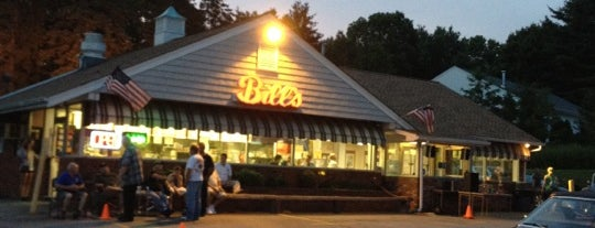 Bill's Drive in is one of Trumbull CT.