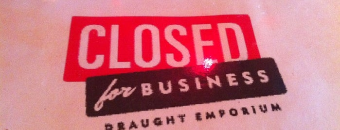 Closed For Business is one of Charleston, SC.