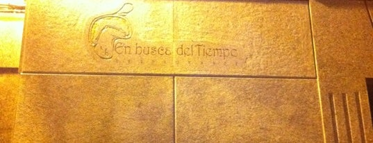 En Busca del Tiempo is one of Tapeo.