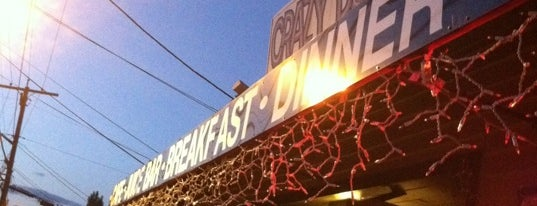 Crazy Burger Cafe & Juice Bar is one of Diners, Drive-Ins, & Dives.