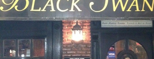 The Black Swan is one of All Bars & Clubs: TalkBangkok.com.