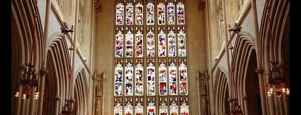 Bath Abbey is one of Bath.