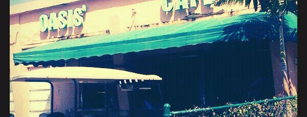 Oasis Cafe is one of My favorite restaurants in Miami.
