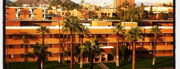 Arizona State University is one of College Love - Which will we visit Fall 2012.
