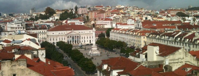 Praça dos Restauradores is one of Lisboa.