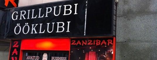 Zanzibar is one of The Barman's bars in Tallinn.