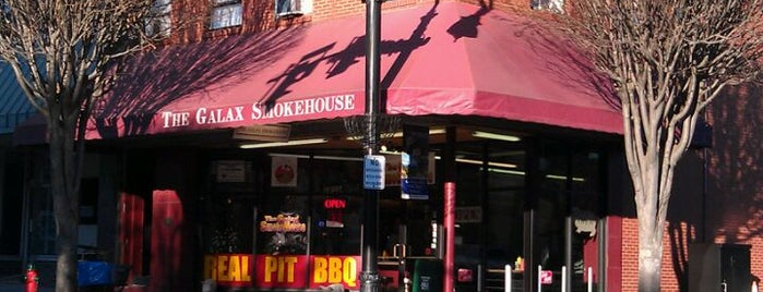 The Galax Smokehouse is one of Food joints.