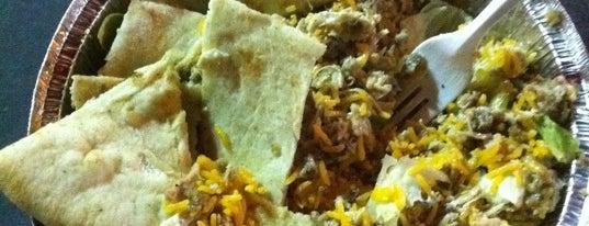 The Halal Guys is one of Dope Dozen: best eats NYC.