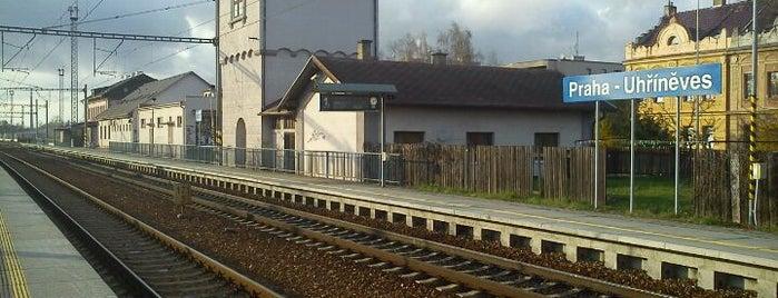 Železniční stanice Praha-Uhříněves is one of Železniční stanice ČR: P (9/14).