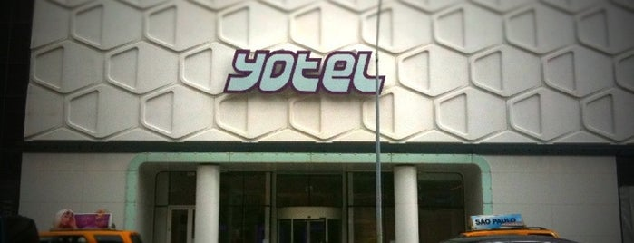 YOTEL New York is one of Strange Places and Oddities in NYC.