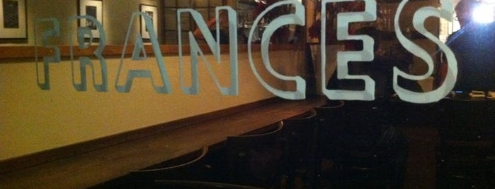 Frances is one of Ze Most Delicious SF Restaurants.