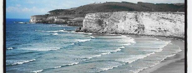 Playa de Langre is one of Guía de Cantabria.