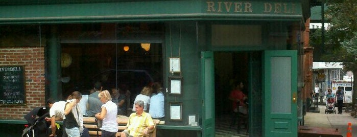 River Deli is one of The 15 Best Italian Restaurants in Brooklyn.