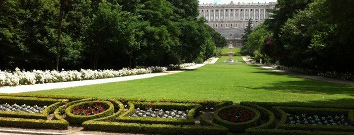 Campo del Moro is one of Conoce Madrid.