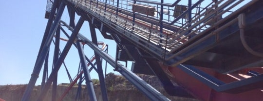 SUPERMAN: Krypton Coaster is one of ROLLER COASTERS.