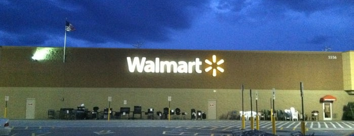 Walmart Supercenter is one of My Places.