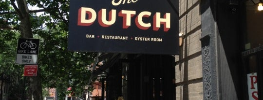 The Dutch is one of Manhattan.