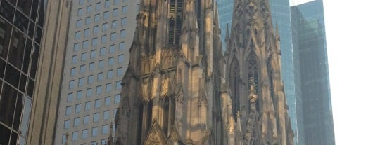 St. Patrick's Cathedral is one of New York City.