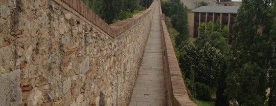 Muralla de Girona is one of girona I.