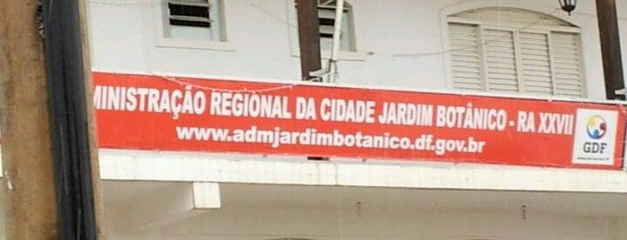 Administração Regional do Jardim Botânico is one of Administrações Regionais do DF.