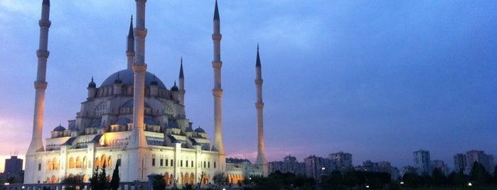 Sabancı Merkez Camii is one of my favorites.
