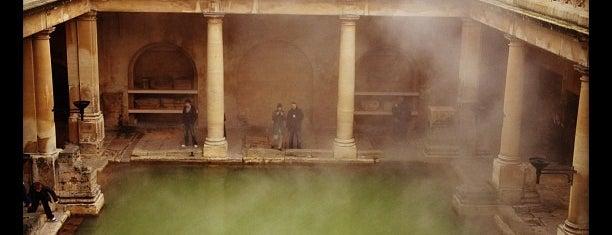 The Roman Baths is one of Bath.
