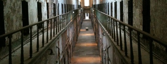 Eastern State Penitentiary is one of Paranormal Traveler.