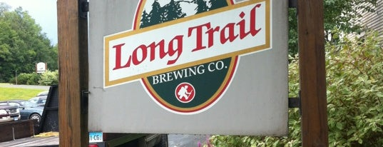 Long Trail Brewing Company is one of I spy with my 4sq eye.