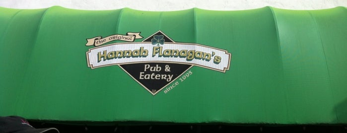 Hannah Flanagans Pub is one of Food & Beverage Places I Love.