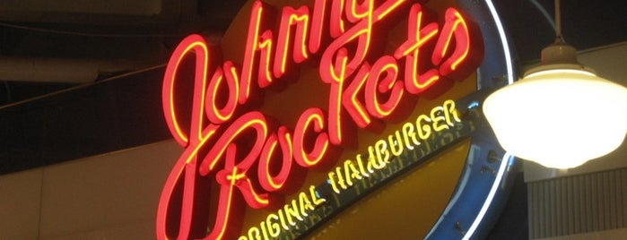 Johnny Rockets is one of Places I have gone.