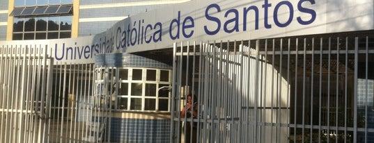 Universidade Católica de Santos (Unisantos) is one of Buh.