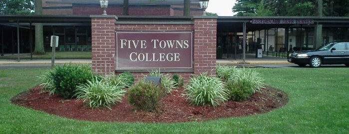 Five Towns College is one of My home.