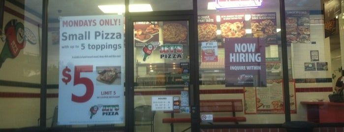 Jet's Pizza is one of GRAte spots.