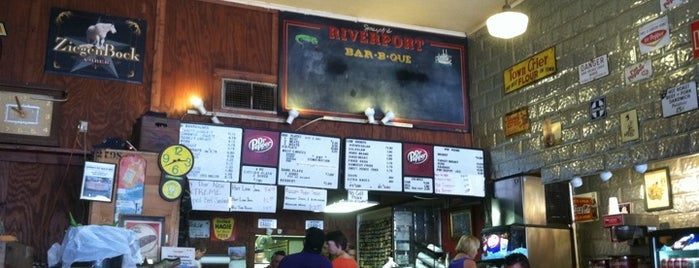 Riverport Barbecue is one of TM Top 50 BBQ Joints 2013.
