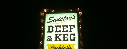 Swiston's Beef & Keg is one of Restaurants I want to Try.