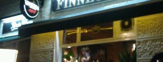 Finnegan's Irish Pub is one of drinks.