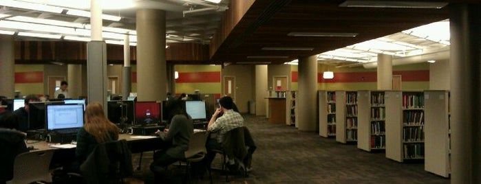 Business/SPEA Information Commons is one of IU Badge.