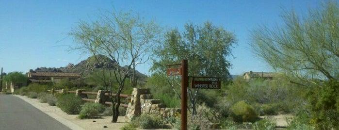 Whisper Rock Estates Gatehouse is one of Scottsdale Luxury Communities.