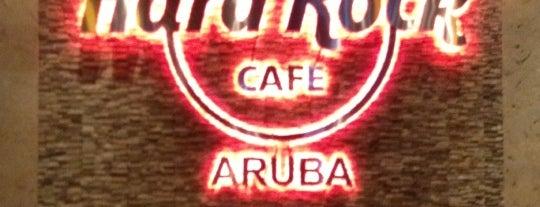 Hard Rock Cafe Aruba is one of HARD ROCK CAFE'S.