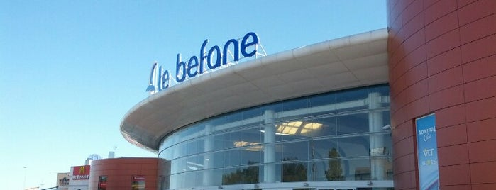 Le Befane Shopping Centre is one of 4G Retail.