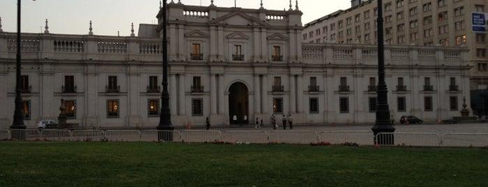 Palacio de La Moneda is one of Santiago, Chile #4sqCities.