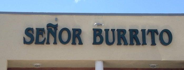 Señor Burrito is one of Peewee's Big Ass South Florida Food Adventure!.