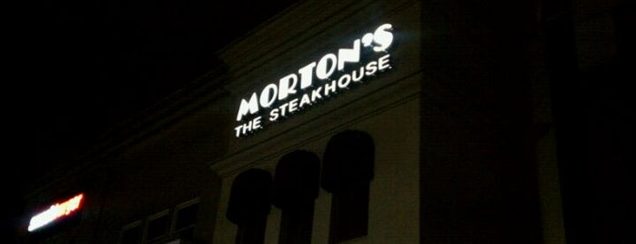 Morton's The Steakhouse is one of Things To Do In NJ.