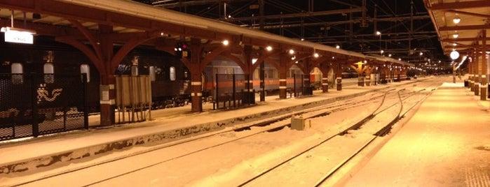 Ånge Station is one of Tågstationer - Sverige.