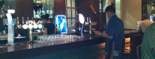 The Hub (Irish Bar) at Sofitel Dubai Jumeirah Beach is one of Dubai's All Time Favorite Sport Bars.