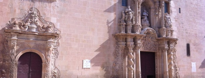 Basilica Santa Maria Alicante is one of Alicante urban treasures.