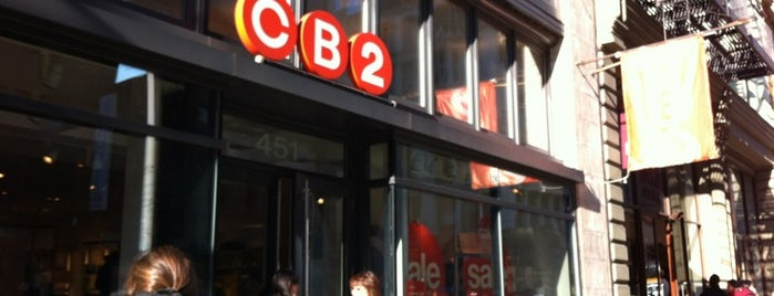 CB2 is one of NYC.