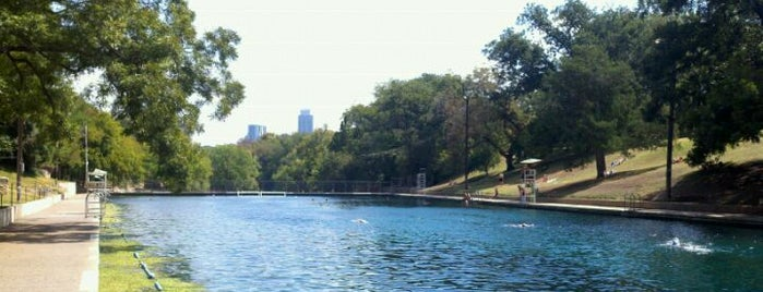 Barton Springs Pool is one of Top 10 Things to Do in Austin.