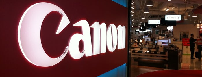 Canon LiNK is one of le 4sq with Donald :).